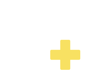 White outline of a heart with a yellow Red Cross emblem reflects self-enrollment or enrollment of a loved one in Acadia Connect